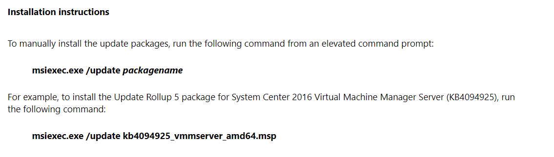 SCVMM Upgrade of version 4 0 1660 0 possible?