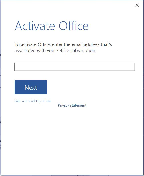 microsoft office activation wizard keeps popping up