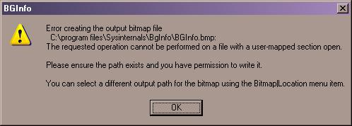 error 15405