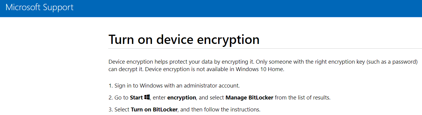 bitlocker protection off and no key protectors, but drive is