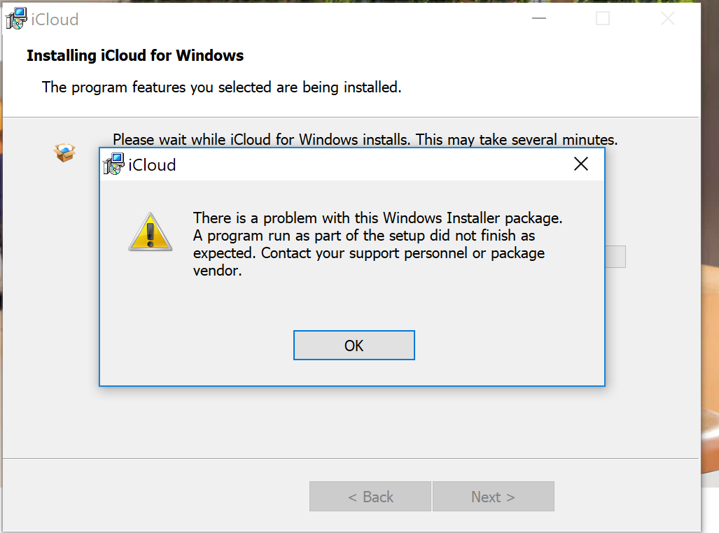 Anyone having issues installing icloud for windows since the