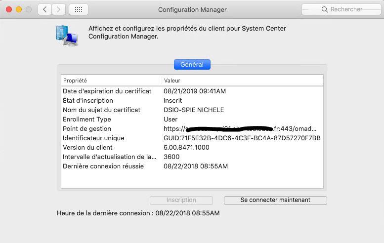 SCCM Client on macOS