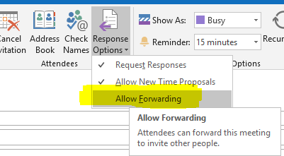 Disable Meeting forward in Outlook - Eli Shlomo | Blog | Eli