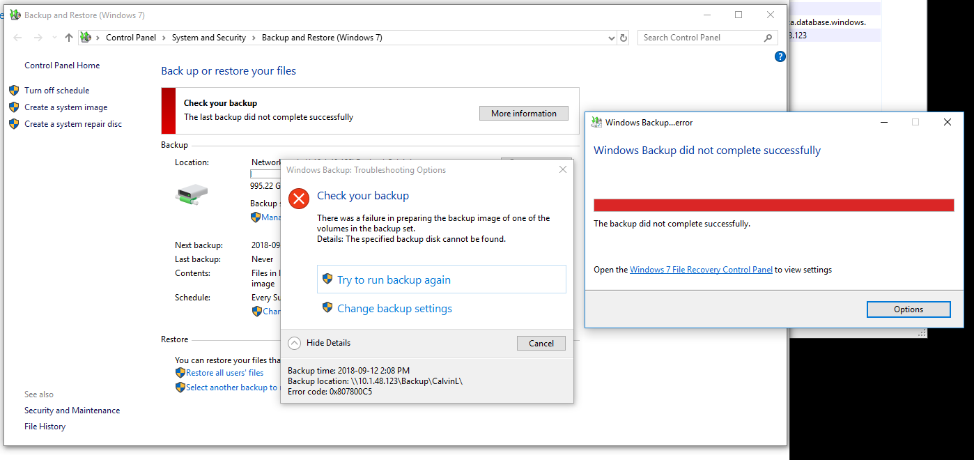 windows 10 complete backup and restore