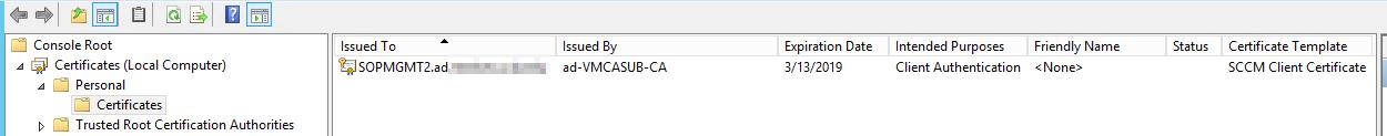 Error 0x8000ffff on Client Push