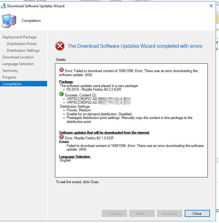 Cannot download Firefox 60 1 0 ESR or 60 2 0 ESR