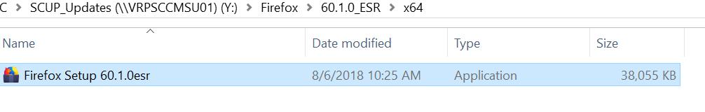 Firefox Esr 51