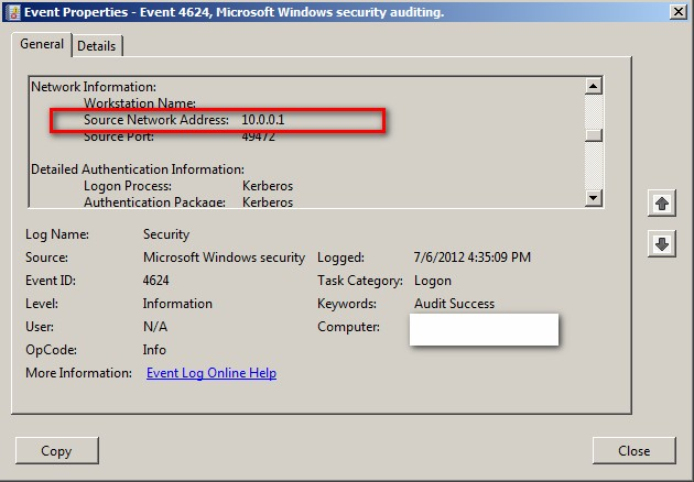 Account lockout on windows 2008 r2 and windows 7