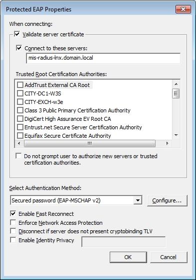 Public Certificate for NPS/NAP?