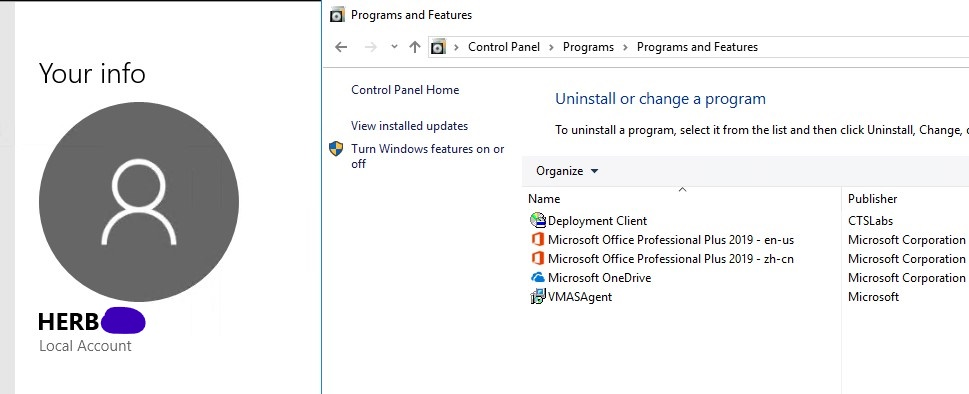 Office 2019 Volume License - Installation with administrator