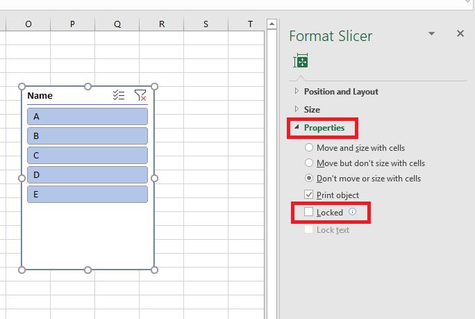 Excel 2016 Desktop: Clear Filter & Reapply Filter Buttons