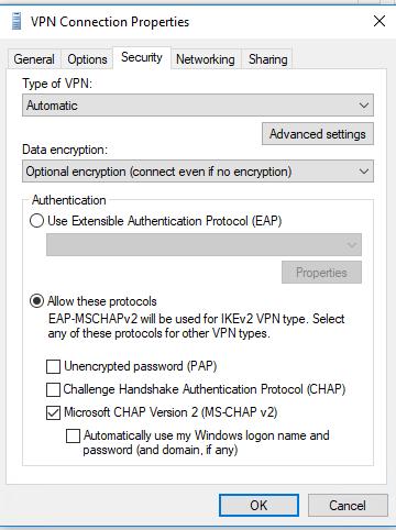 1354909 - Windows 10 Pptp Vpn Won T Connect