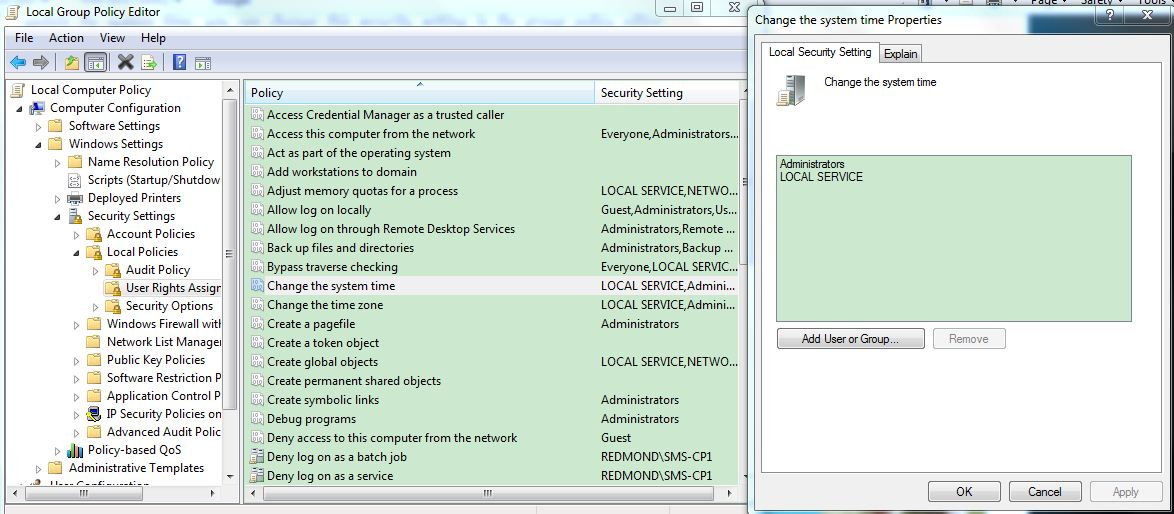 Change my date and time in cmd without Admin privileges
