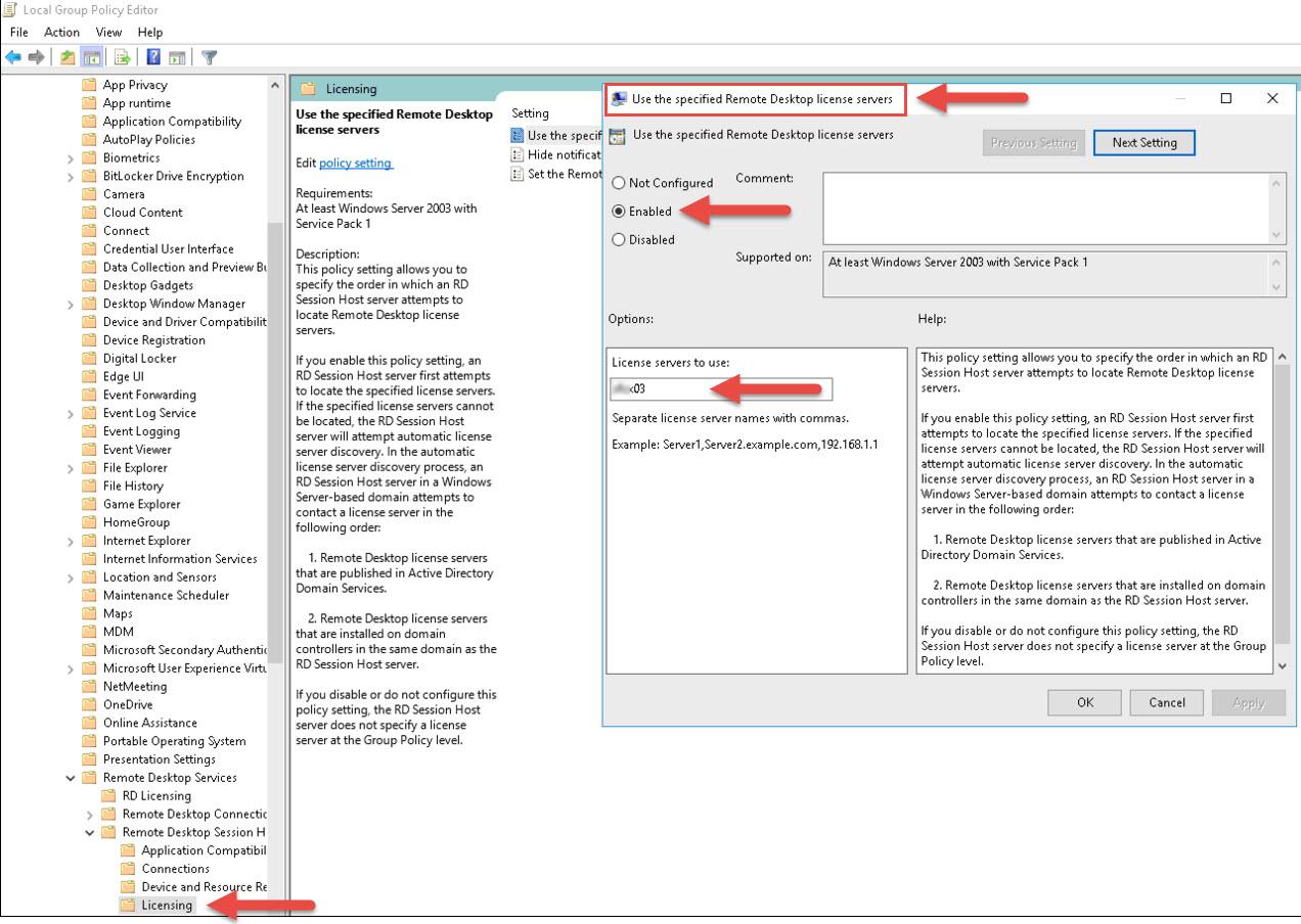 Remote Desktop License Issue