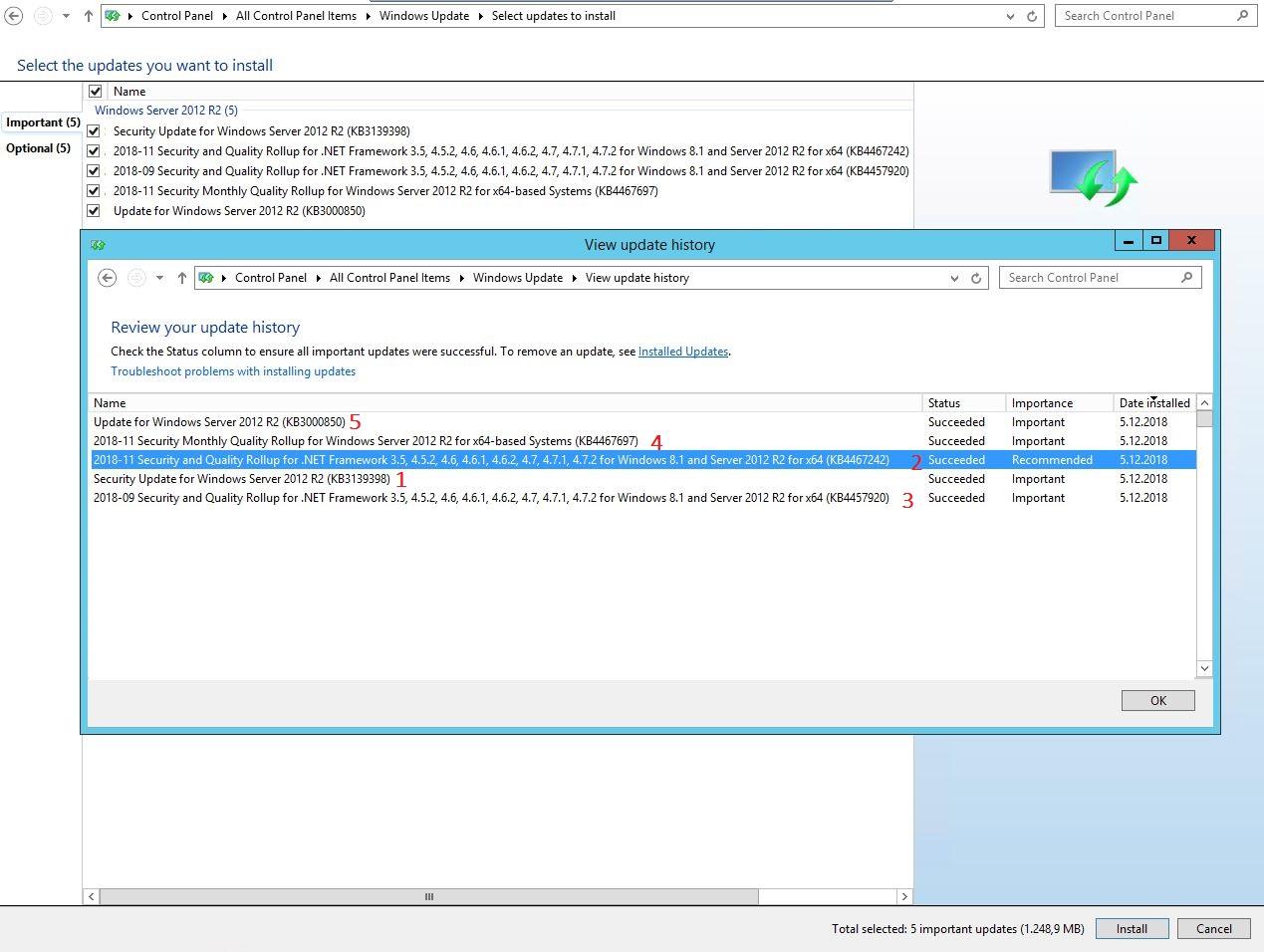 windows update not working server 2012 r2