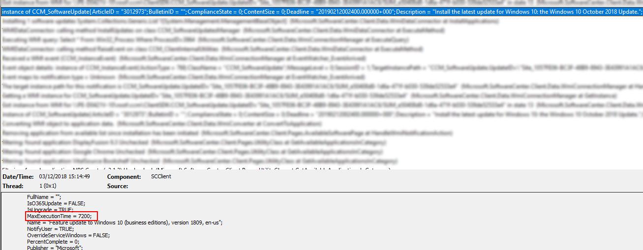 Error Deploying 1709 Upgrade