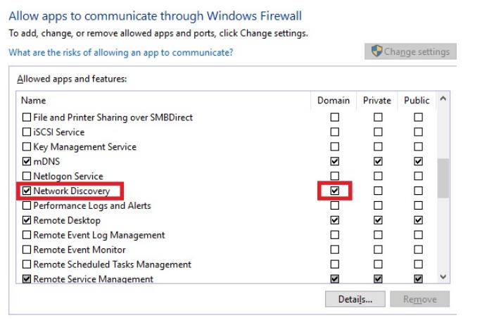 Windows 10 Pro version 1809 LAN issues