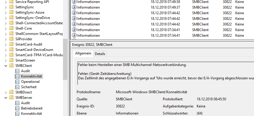 Windows Server 2019 SMB Share