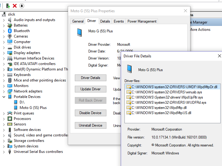 MICROSOFT MTP DEVICE DRIVERS FOR WINDOWS MAC