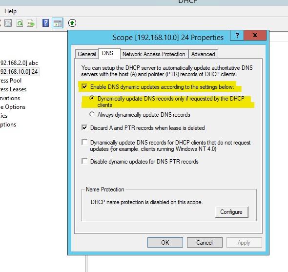 Windows DHCP