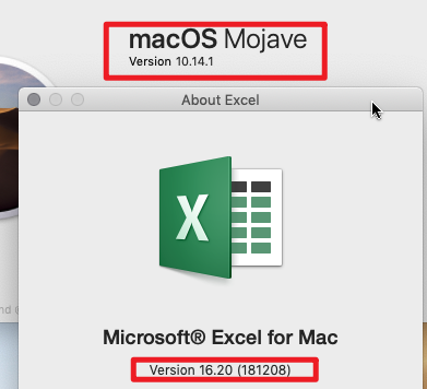 Excel 16 20 on Mac crashes when double-clicking on Excel file