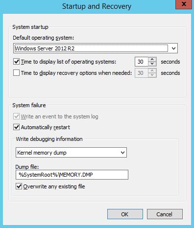 RDS Server Stop Error (BlueScreen)