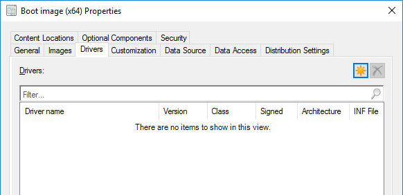 Task Sequence fails on latest Dell XPS 15 model (9570)  Can't create