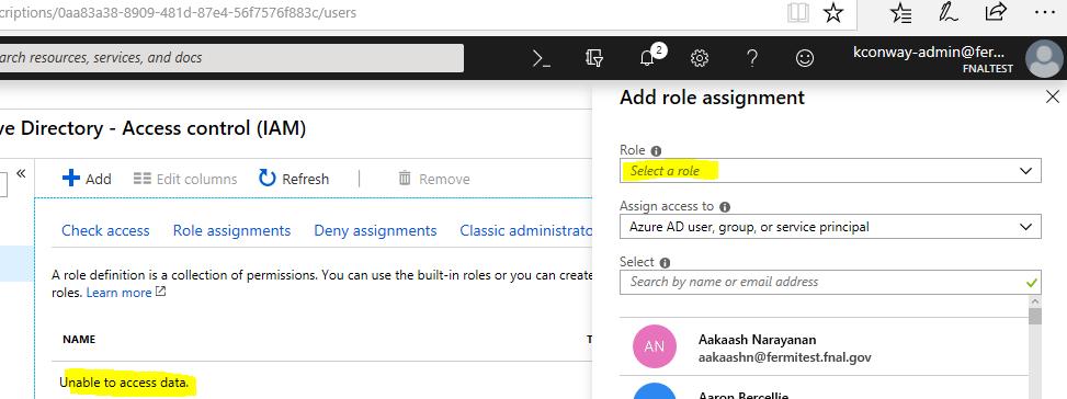 Azure Active Directory forum