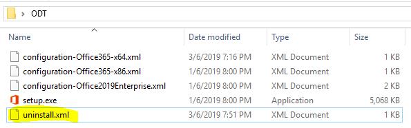 Uninstall Access Runtime 2016 Office Pro Plus