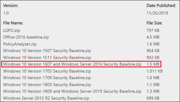 Hardening 2016 OS for Domain Controller