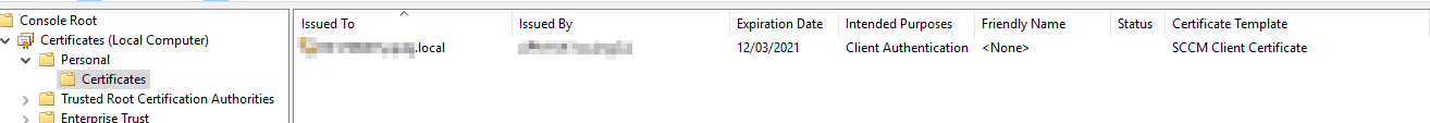 SCCM 1810 Error Task Sequence Manager failed to execute task