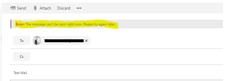 some OWA users cannot send email
