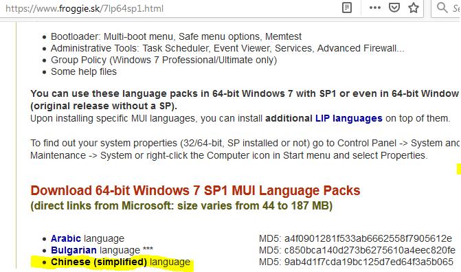 windows 7 chinese language pack download 64 bit
