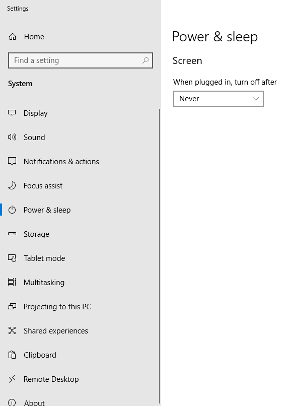 Windows 10 - Remote Desktop serves Black Screen