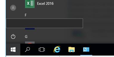 server 2016 start menu not responding
