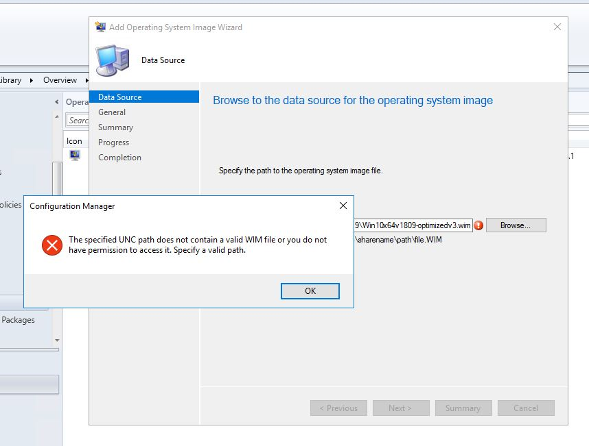 Upgrading from MDT 8450 to 8456 with SCCM and still having problems