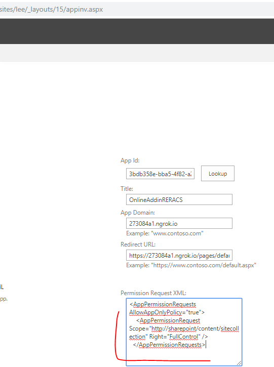 unable to debug my remote event reciever using ngrok reverse proxy