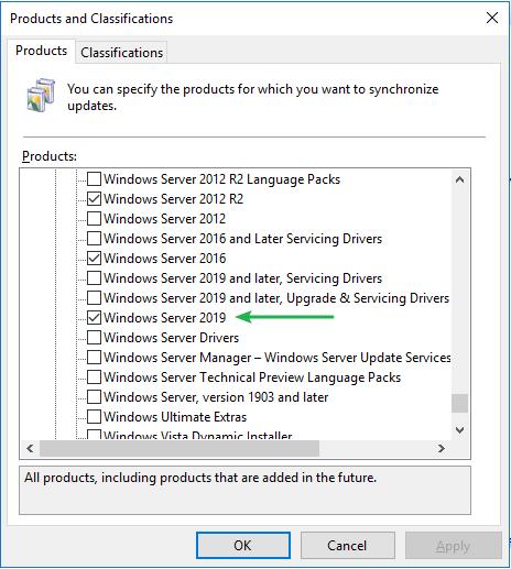 Server 2019 Updates