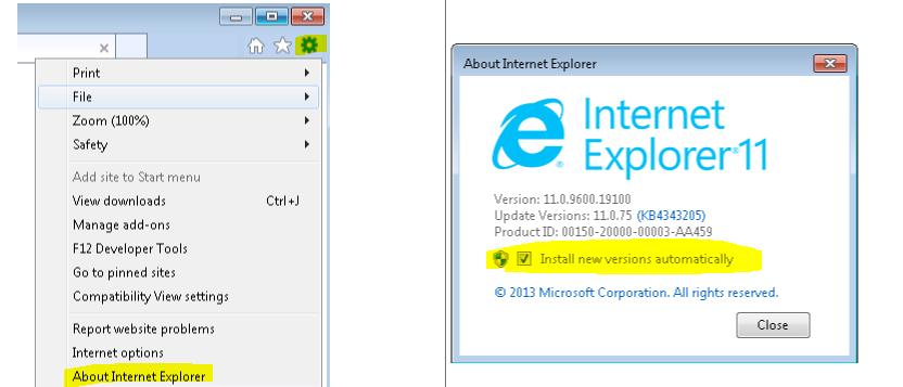 Microsoft internet explorer cmarkuptransnavcontext object