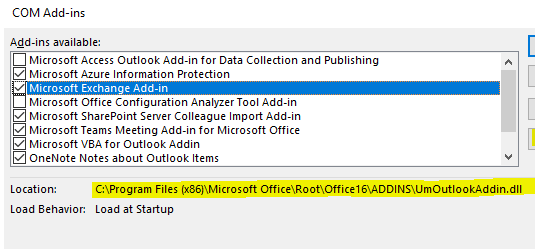 Outlook 2016 crashing when pressing 'Invite Attendees'