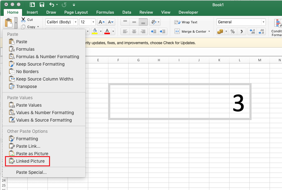 Transpose on excel for macbook