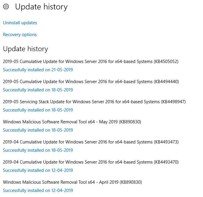 When restarting Hyper-V server on Windows 2016 it shuts down