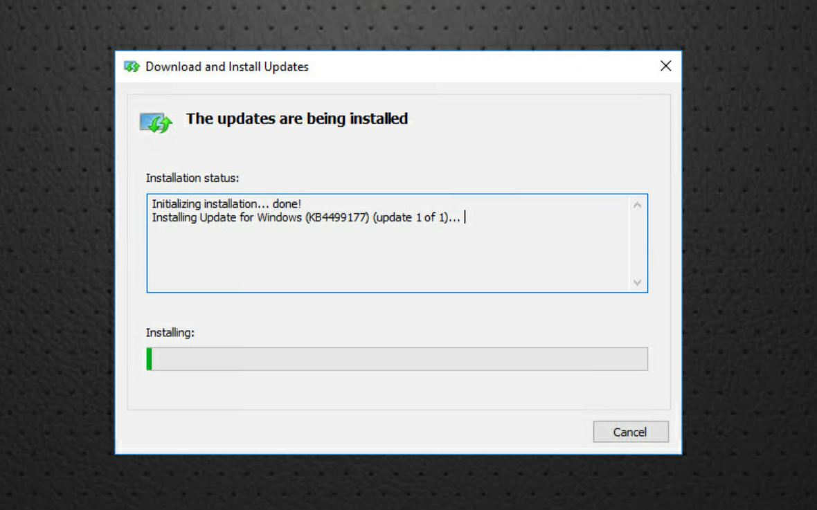 what's with the really slow windows updates on 2016?