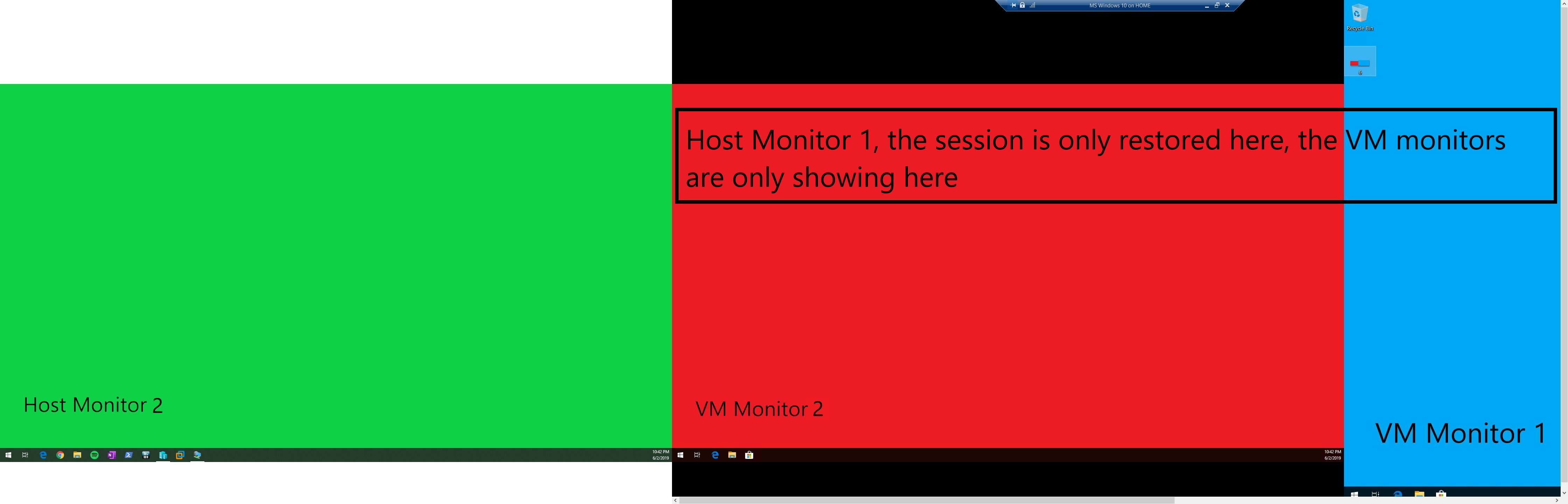 VM session restored.