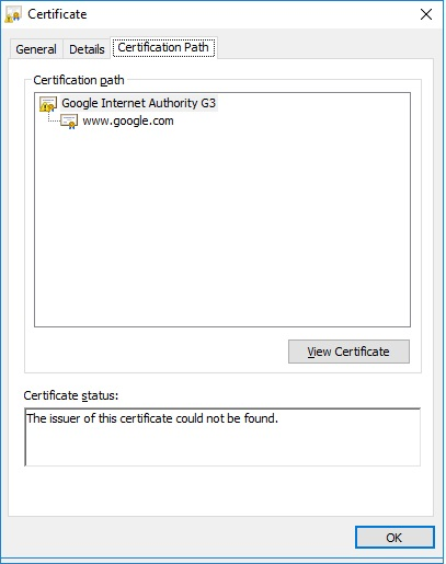 NET::ERR_CERT_AUTHORITY_INVALID on all domain controllers