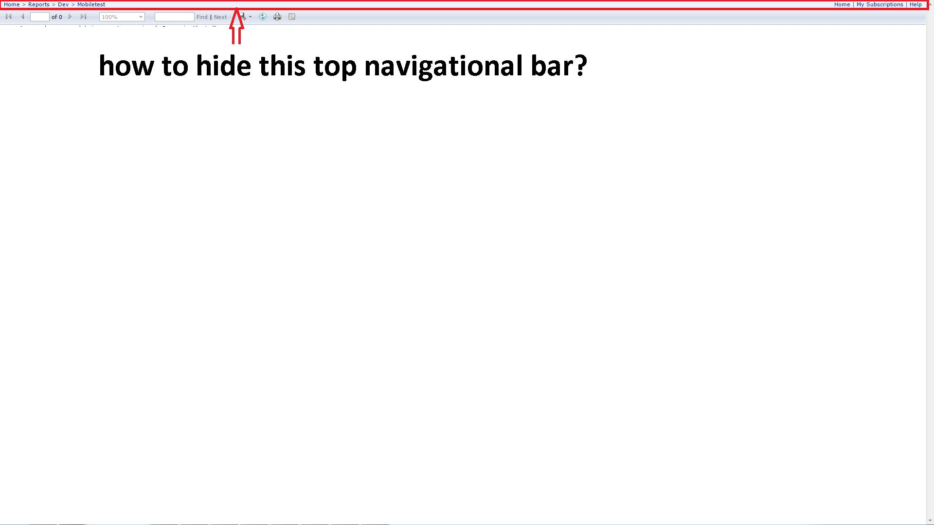 how to hide microsoft start bar