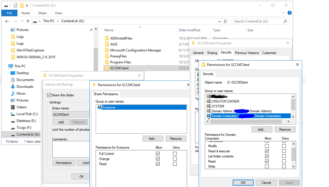 Following a How-To for Jason Sandys Startup Script for SCCM Client