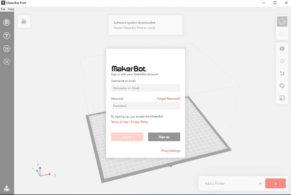 MakerBoit Print GUI