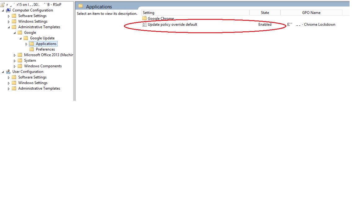 Using GPO to manage Chrome