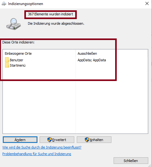 Windows searchd does not work on RDS Server 2019